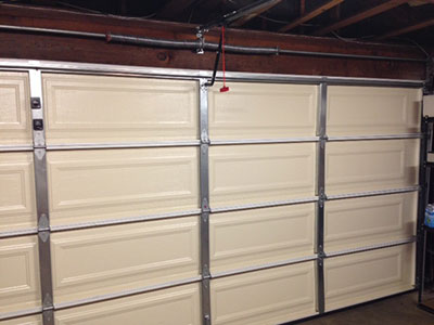 Garage Door Replacement - Installation
